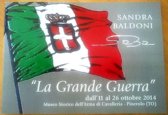 11-26.10.2014 a Pinerolo Sandra Boldoni - la Grande Guerra www.lavocedelmarinaio.com