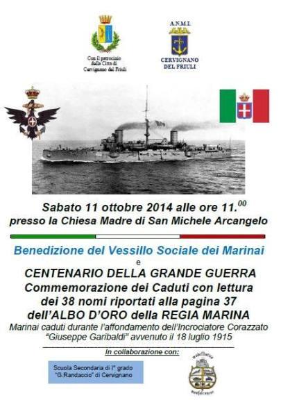 11.10.2014 a Cervignano del Friuli - www.lavocedelmarinaio.com