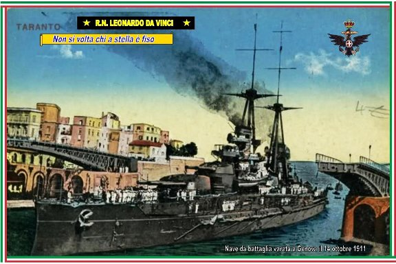 14.10.1911 Varo  R.N. DA VINCI - www.lavocedelmarinaio.com