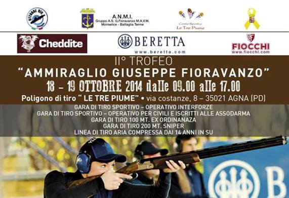 18-19.10.2014 ad Agna Trofeo ammiraglio Fioravanti - www.lavocedelmarinaio.com