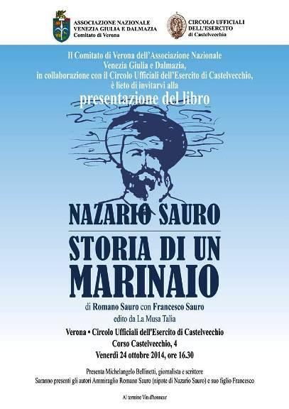 24.10.2014 a Verona Storia di un Marinaio - www.lavocedelmarinaio.com