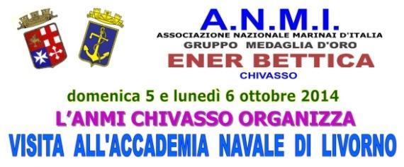 5-6.10.2014 A.N.M.I. Chiavasso a Livorno - www.lavocedelmarinaio.com