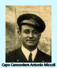 Capo Cannoniere Antonio MICCOLI - www.lavocedelmainaio.com