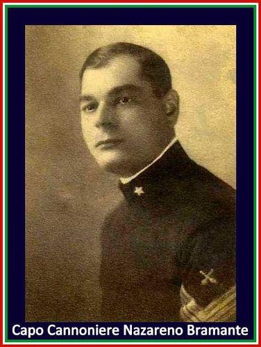 Capo cannoniere Nazareno Bramante - www.lavocedelmarinaio.com
