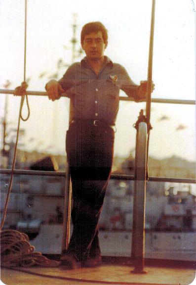 Carlo Mignogna marinaio molisano per www.lavocedelmarinaio.com