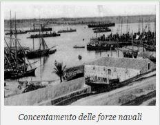 Concentramento delle forze navali (f.p.g.c. Francesco Carriglio a www.lavocedelmarinaio.com