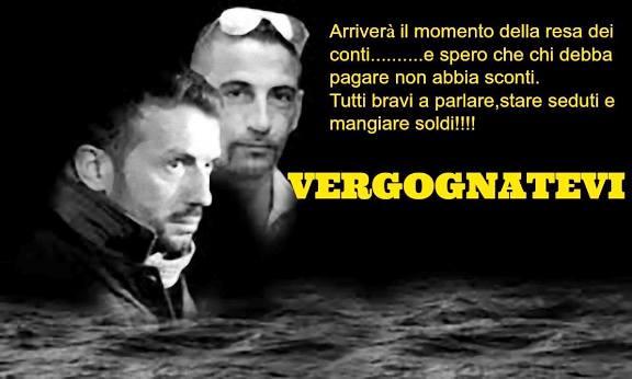 I due marò Massimiliano Latorre e Salvatore Girone www.lavocedelmarinaio.com