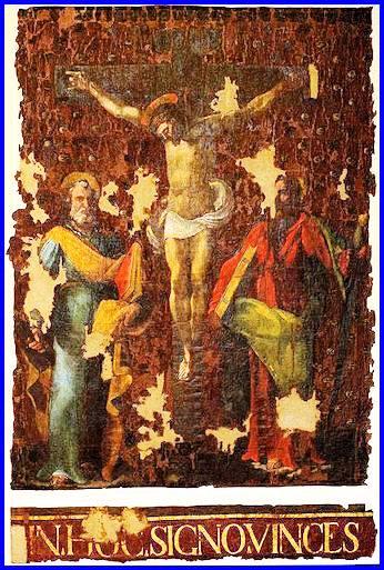 Lo stendardo della battaglia di Lepanto donato da Pio V donato alla Cattedarale di Gaeta f.p.g.c. Carlo Di Nitto a www.lavocedelmarinaio.com