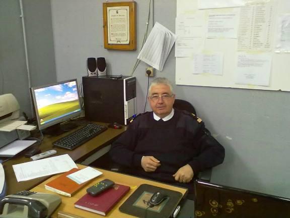 Luogotenente motorista Carlo Mignogna per www.lavocedelmarinaio.com