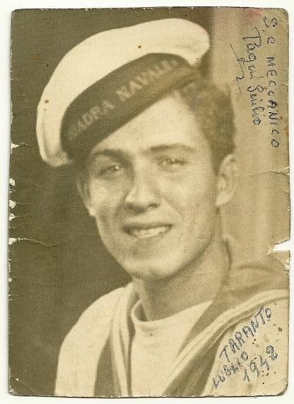 Marinaio Giulio Pagni (11 - 1942) f.p.g.c. Sergio Pagni a www.lavocedelmarinaio.com