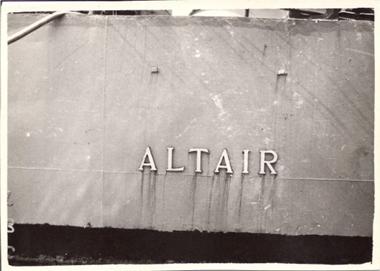 Nave Altair- www.lavocedelmarinaio.com