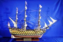 Un modellino del HMS Victory
