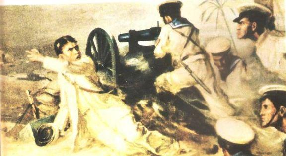 raffigurazione dell'azione - www.lavocedelmarinaio.com