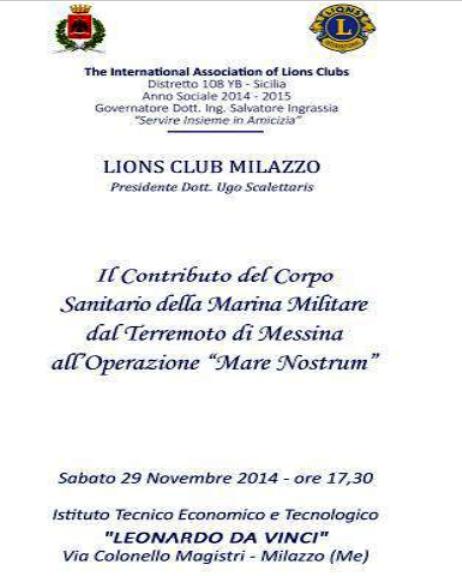 29.11.2014 a Milazzo - www.lavocedelmarinaio.com