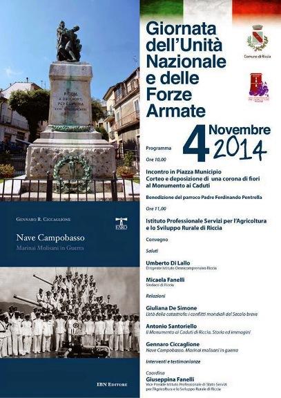 4.11.2014 a Riccia (CB) - www.lavocedelmarinaio.com