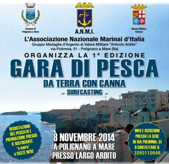 8.11.2014 a Polignano a mare - www.lavocedelmarinaio.com