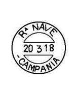 Bollo regia nave Campania - www.la vocedelmarinaio.com