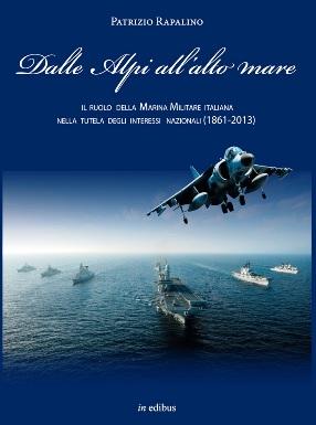 Dalle alpi all'alto mare (Patrizio Rapalino) la copertina - copia
