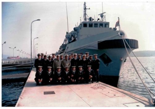 Equipaggio di nave Titano 1995 - www.lavocedelmarinaio.com