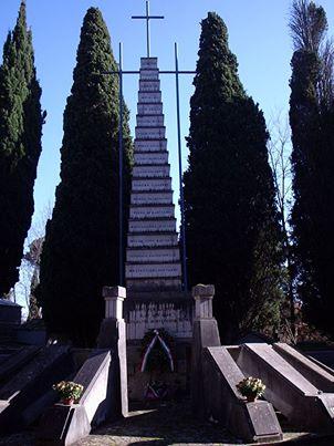 Il monumento dei Martiri di Sutri