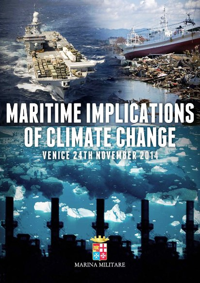Maritime implications of climate change - Venezia 24.11.2014 (foto Marina Militare)