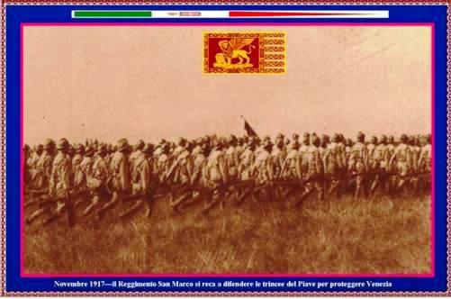 novembre 1917 btg sanmarco a venezia - www.lavocedelmarinaio.com