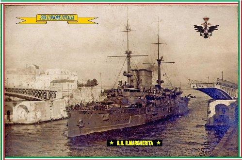 11.12.1916, Regia Nave REGINA MARGHERITA - www.lavocedelmarinaio.com