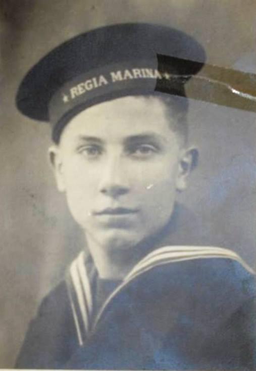 17.12.1943 r.ct. Aviere - Campana Edoardo (classe 1925)  f.p.g.c. Lucio Campana per www.lavocedelmarinaio.com