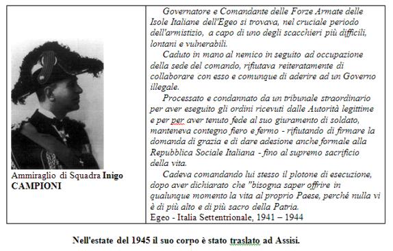 Ammiraglio di Squadra Inigo Campioni - www.lavocedelmarinaio.com
