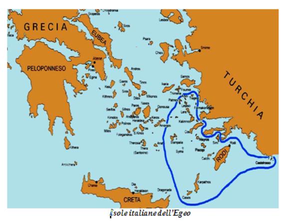 Isole Italiane nell'Egeo durante la 2^ Guerra Mondiale - copia - www.lavocedelmarinaio.com