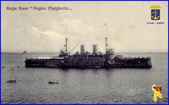 Regia nave Regina Margherita f.p.g.c. Carlo Di Nitto a www.lavocedelmarinaio.com