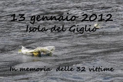 13.1.2012 Costa Concordia -www.lavocedelmarinaio.com