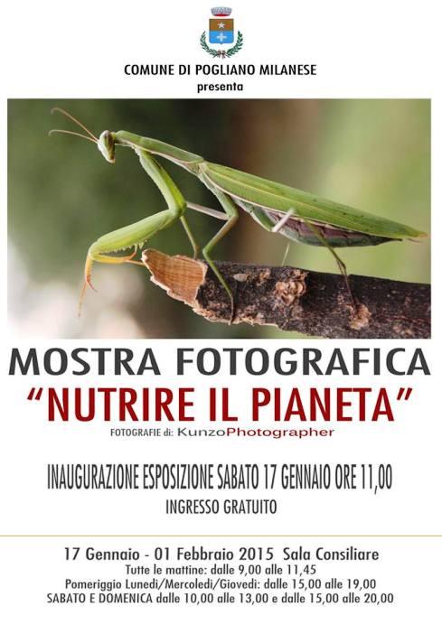 17.1.2015 a Pogliano Milanese mostra fotografica nutrire il pianeta - www.lavocedelmarinaio.com