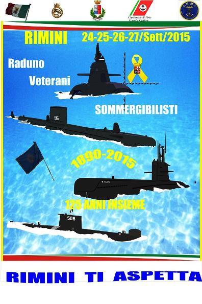 24-27 settembre 2015 raduno veterani sommergibilisti copia bozza provvisoria della locandina - www.lavocedelmarinaio.com