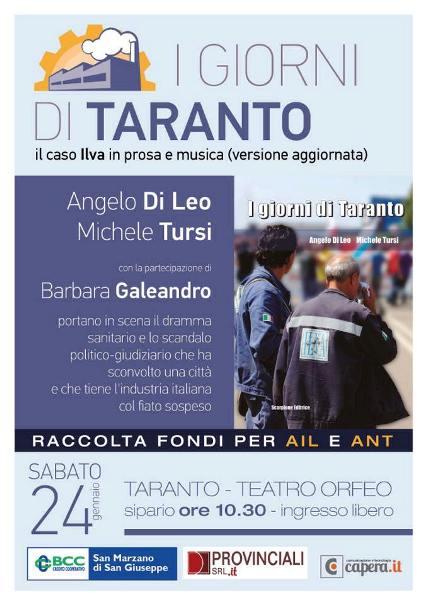24.1.2015 I giorni di Taranto - Il caso Ilva -  www.lavocedelmarinaio.com