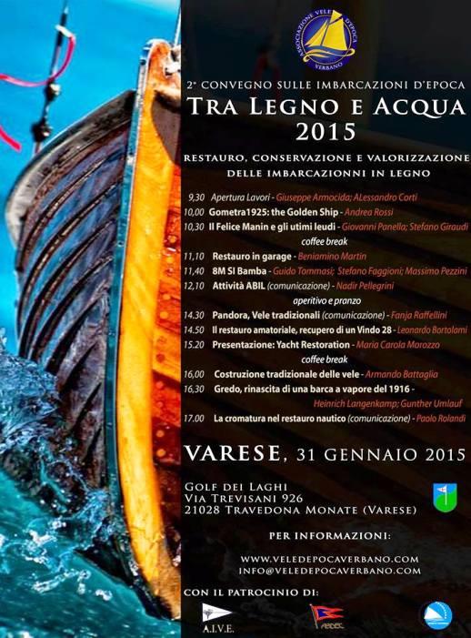 31.1.2015 a Varese tra legno ed acqua 2015 - www.lavocedelmarinaio.com