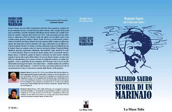 Nazario Sauro - storia di un marinaio la copertina - www.lavocedelmarinaio.com - copia