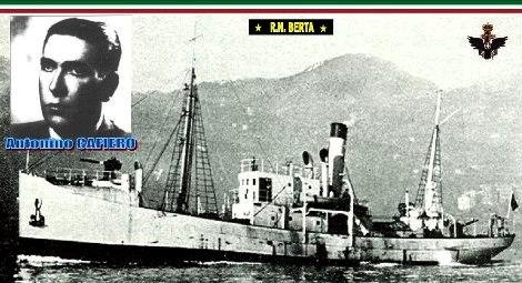 Regia nave Berta e 2° capo nocchiero Antonio Cafiero www.lavocedelmarinaio.com
