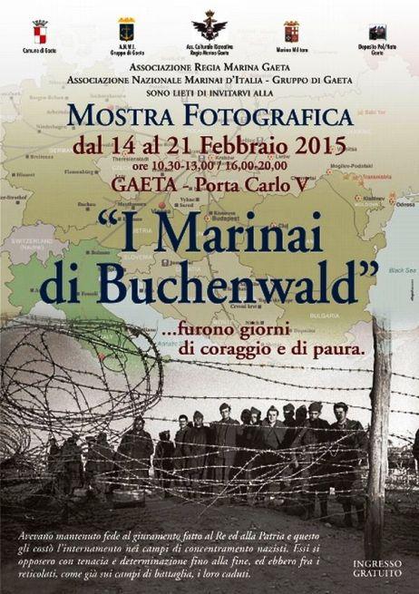 14-21.2.2015 a Gaeta i Marinaidi Buchenwald - www.lavocedelmarinaio.com