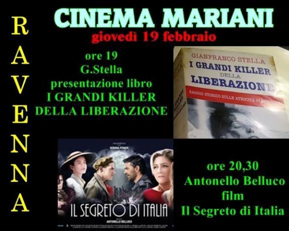 19.2.2015 a Ravenna  proiezione del film I grandi killer della storia  liberazione - www.lavocedelmarinaio.com