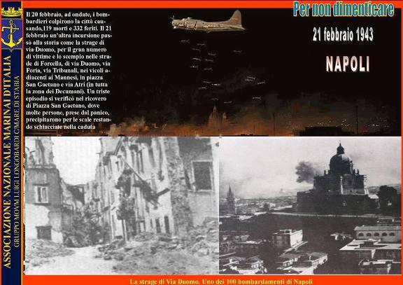 21.2.1943 bombe su napoli - www.lavocedelmarinaio.com