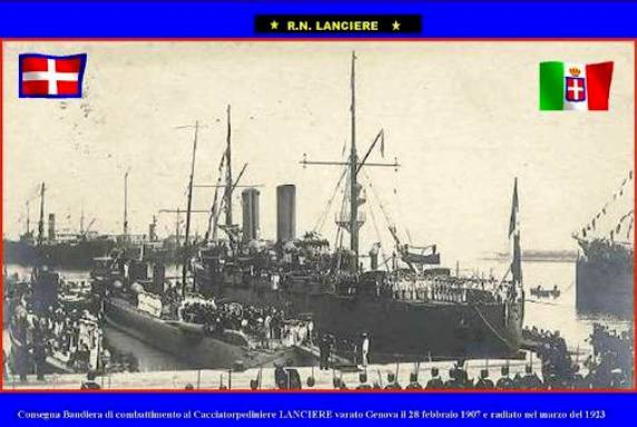 28.2.1907 Cacciatorpediniere Lanciere (www.lavocedelmarinaio.com) - 1