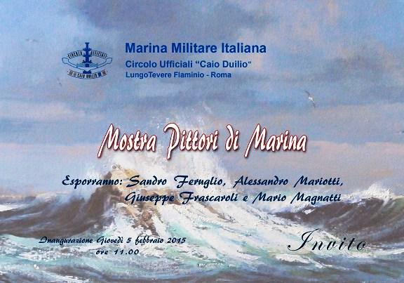 5.2.2015 al Circolo ufficiali Marina Militare Roma  - www.lavocedelmarinaio.com