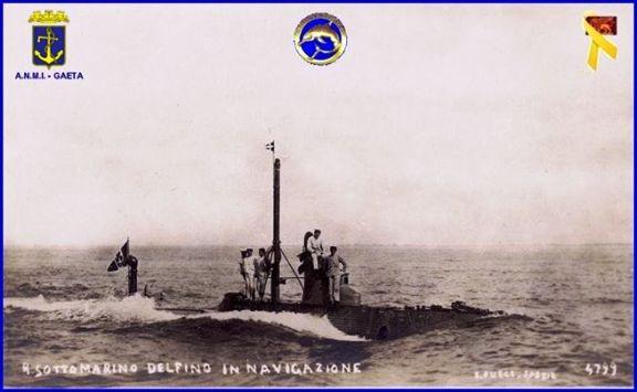 regio sommergibile delfino f.p.g.c. Carlo Di Nitto a www.lavocedelmarinaio.com