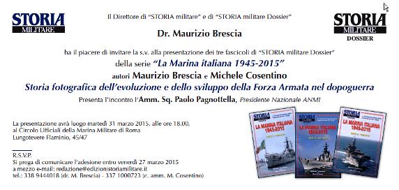 31.3.2015 Circoli Ufficiali Marina Militare - www.lavocedelmarinaio.com