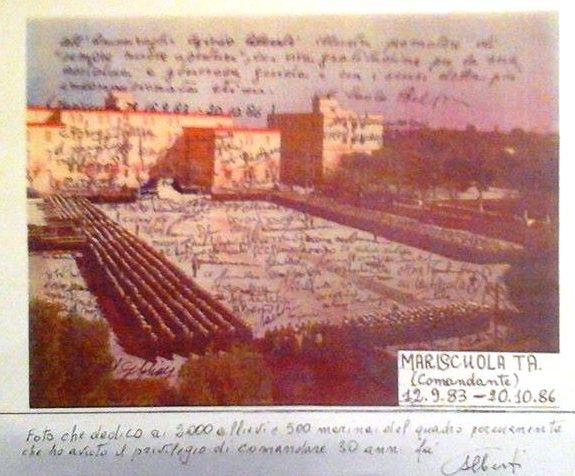 Foto di ringraziamento ai marinai di Egidio Alberti p.g.c. a www.lavocedelmarinai.com