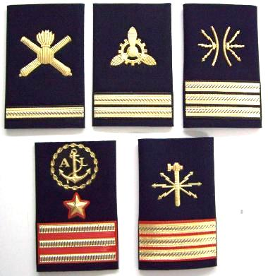 I gradi da maresciallo nella Marina Militare - www.lavocedelmarinaio.com