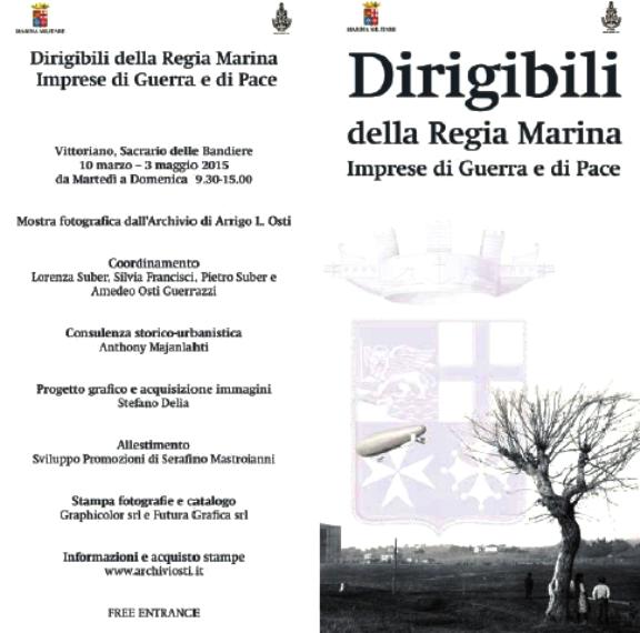 dirigibili della marina militare 10.3. - 3.5.2015 Roma al Vitoriano - www.lavocedelmarinaio.com