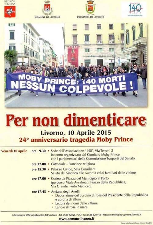 10.4.2015 a Livorno per non dimenticare le vittime della Moby Pince - www.lavocedelmarinaio.com