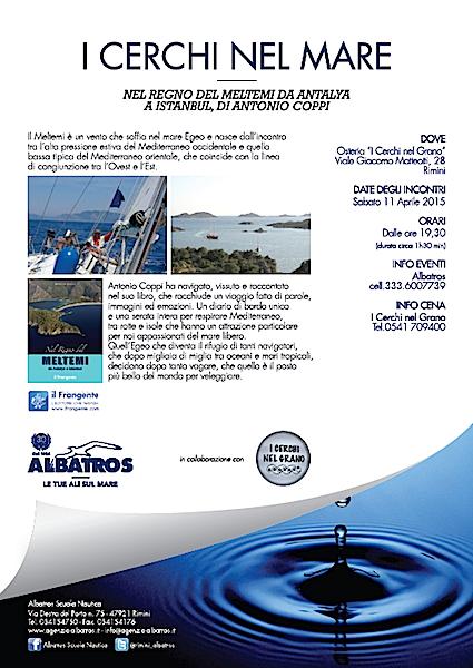 11.4.2015 a Rimini I cerchi nel mare - www.lavocedelmarinaio.com